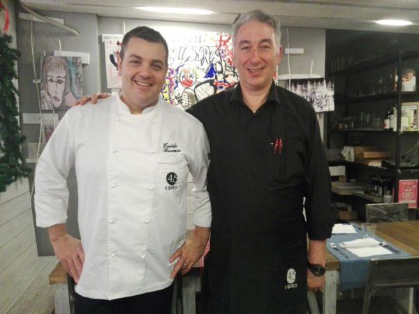 Chef Boemio e Ruggero Penza, il maitre del Bistrot 4.5