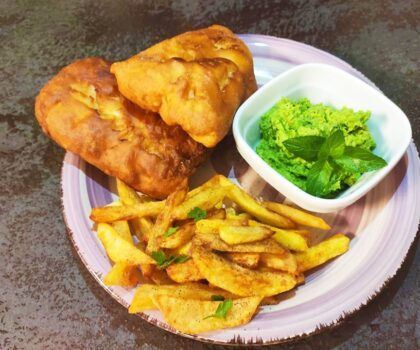 fish and chips ricetta ilbuonoeilbello